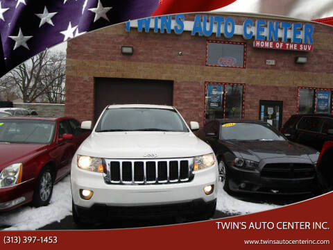 2012 Jeep Grand Cherokee for sale at Twin's Auto Center Inc. in Detroit MI