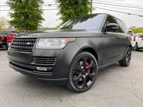 2017 Land Rover Range Rover for sale at iDeal Auto in Raleigh NC