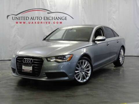 2014 Audi A6 for sale at United Auto Exchange in Addison IL