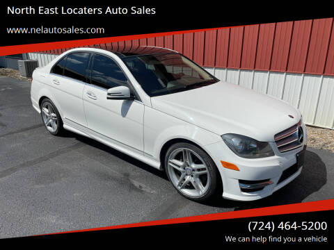 2013 Mercedes-Benz C-Class for sale at North East Locaters Auto Sales in Indiana PA