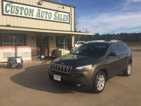 2016 Jeep Cherokee for sale at Custom Auto Sales - AUTOS in Longview TX