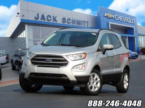 2018 Ford EcoSport for sale at Jack Schmitt Chevrolet Wood River in Wood River IL