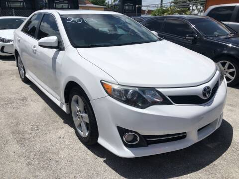 2013 Toyota Camry for sale at VC Auto Sales in Miami FL
