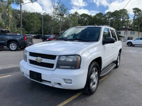 2008 Chevrolet TrailBlazer for sale at REDLINE MOTORGROUP INC in Jacksonville FL