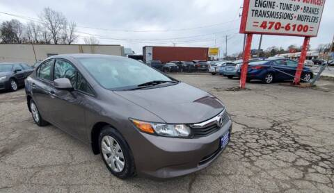 2012 Honda Civic for sale at Nile Auto in Columbus OH
