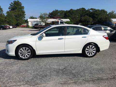 2014 Honda Accord for sale at TAVERN MOTORS in Laurens SC