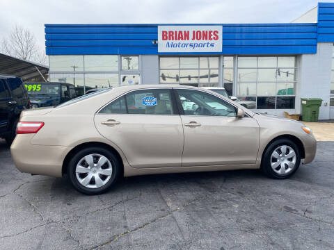 2009 Toyota Camry for sale at Brian Jones Motorsports Inc in Danville VA
