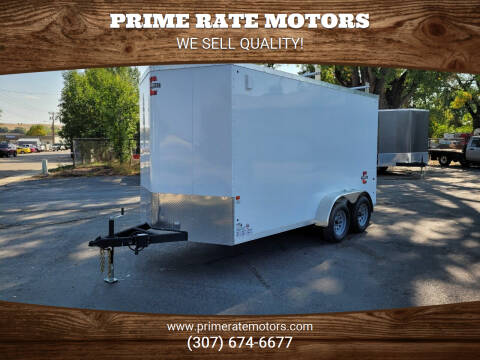 2021 Charmac 7' x 14' Cargo Trailer for sale at PRIME RATE MOTORS in Sheridan WY