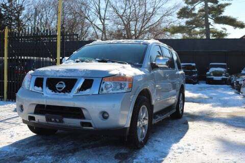 2011 Nissan Armada for sale at F & M AUTO SALES in Detroit MI