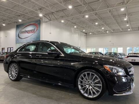 2018 Mercedes-Benz C-Class for sale at Godspeed Motors in Charlotte NC