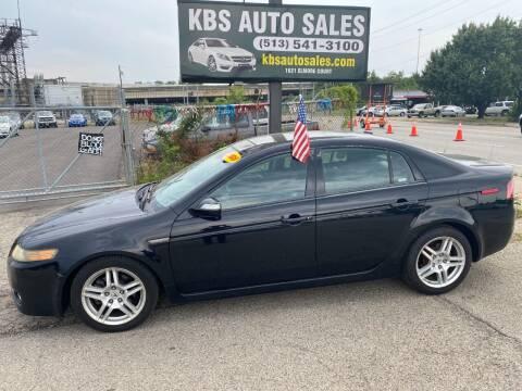 2008 Acura TL for sale at KBS Auto Sales in Cincinnati OH