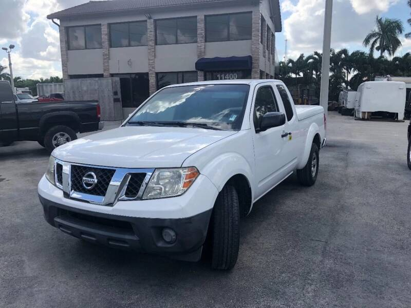 2009 Nissan Frontier for sale at TRUCKS UNLIMITED WHOLESALERS in Medley FL