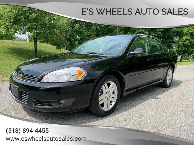 2011 Chevrolet Impala for sale at E's Wheels Auto Sales in Hudson Falls NY