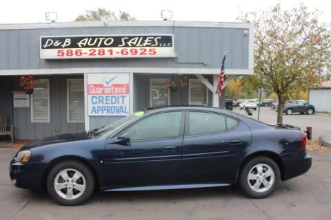 2007 Pontiac Grand Prix for sale at D & B Auto Sales LLC in Washington MI