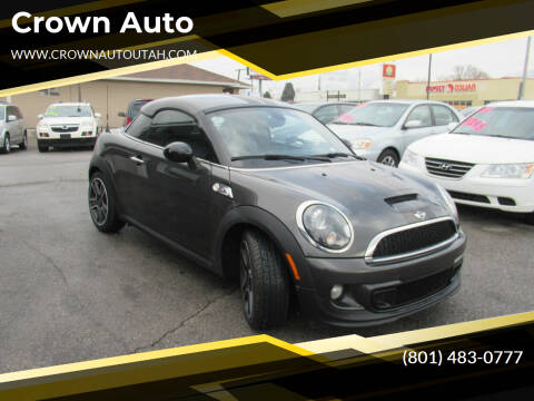 2012 MINI Cooper Coupe for sale at Crown Auto in South Salt Lake City UT