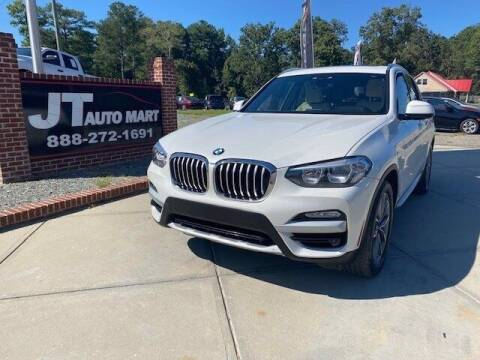 2019 BMW X3 for sale at J T Auto Group in Sanford NC