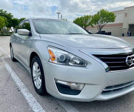 2014 Nissan Altima for sale at LESS PRICE AUTO BROKER in Hollywood FL