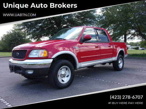 2003 Ford F-150 for sale at Unique Auto Brokers in Kingsport TN