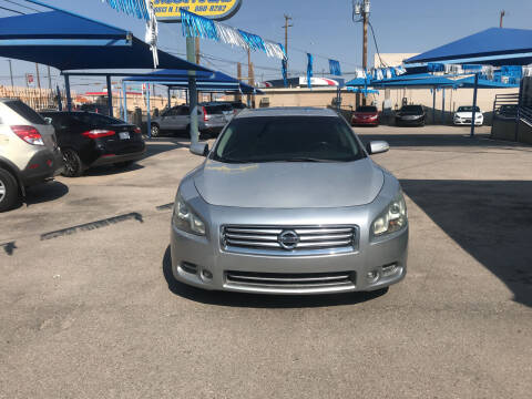 2013 Nissan Maxima for sale at Autos Montes in Socorro TX