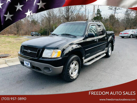 2001 Ford Explorer Sport Trac for sale at Freedom Auto Sales in Chantilly VA