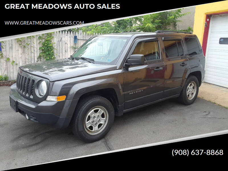 2014 Jeep Patriot for sale at GREAT MEADOWS AUTO SALES in Great Meadows NJ