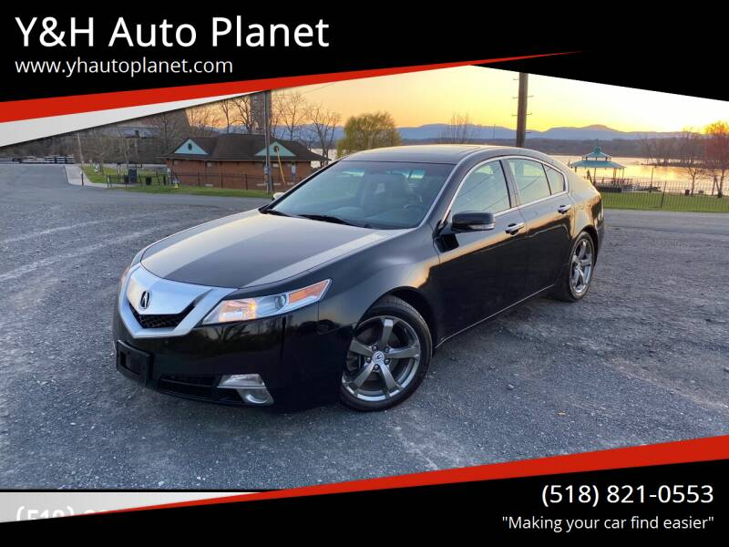 2010 Acura TL for sale at Y&H Auto Planet in West Sand Lake NY