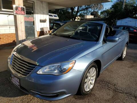 2011 Chrysler 200 Convertible for sale at New Wheels in Glendale Heights IL