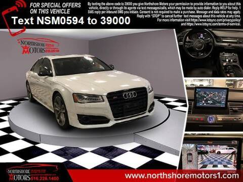 2017 Audi S8 plus for sale at Sunrise Auto Outlet in Amityville NY