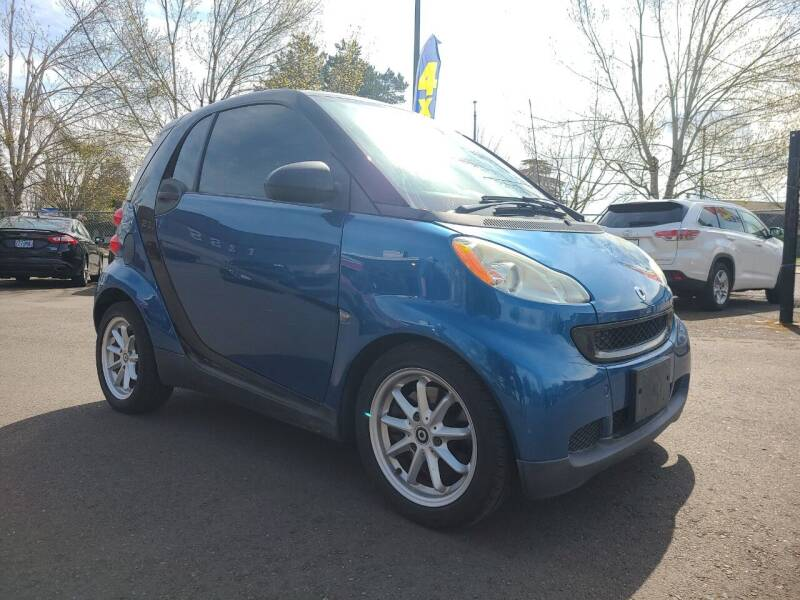2008 Smart fortwo for sale at Universal Auto Sales in Salem OR