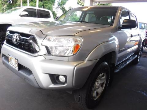 2015 Toyota Tacoma for sale at PONO'S USED CARS in Hilo HI