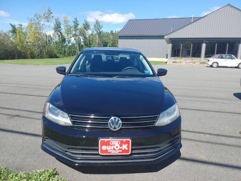 2015 Volkswagen Jetta for sale at eurO-K in Benton ME
