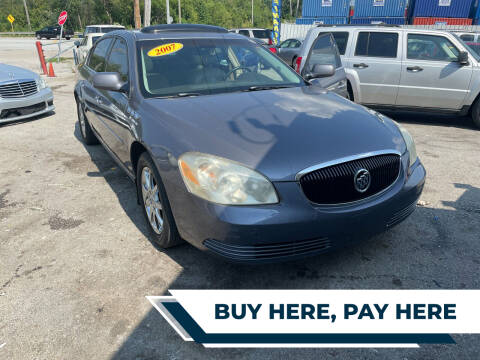 2007 Buick Lucerne for sale at I57 Group Auto Sales in Country Club Hills IL