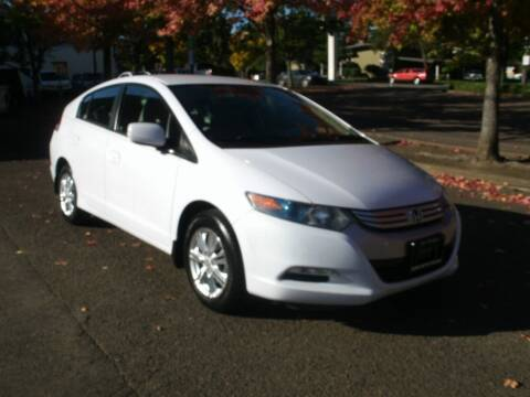 2010 Honda Insight for sale at D & M Auto Sales in Corvallis OR