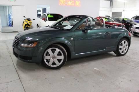 2002 Audi TT for sale at R n B Cars Inc. in Denver CO