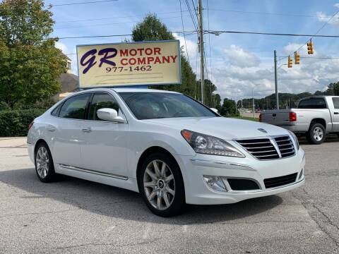2011 Hyundai Equus for sale at GR Motor Company in Garner NC