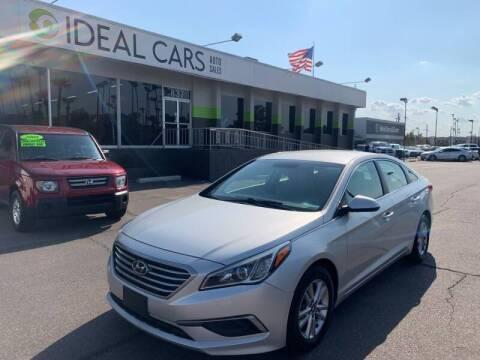 2016 Hyundai Sonata for sale at Ideal Cars East Mesa in Mesa AZ