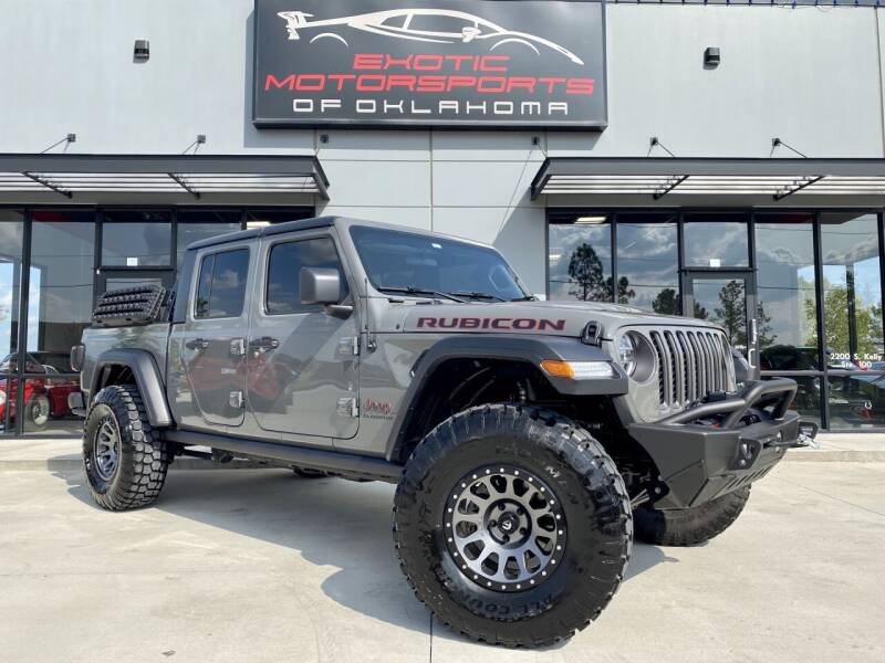 2020 Jeep Gladiator for sale at Exotic Motorsports of Oklahoma in Edmond OK