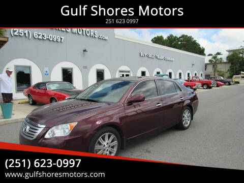 2008 Toyota Avalon for sale at Gulf Shores Motors in Gulf Shores AL