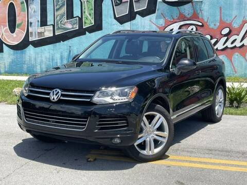 2014 Volkswagen Touareg for sale at Palermo Motors in Hollywood FL