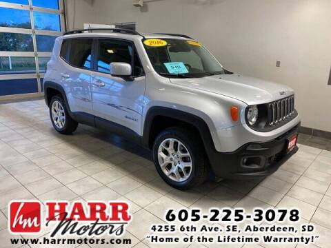 2016 Jeep Renegade for sale at Harr Motors Bargain Center in Aberdeen SD