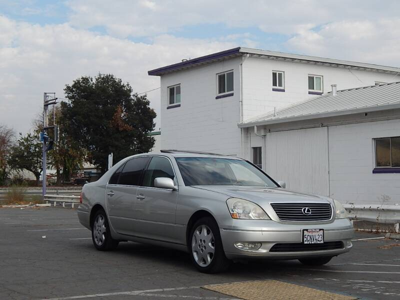 2003 Lexus LS 430 for sale at Gilroy Motorsports in Gilroy CA