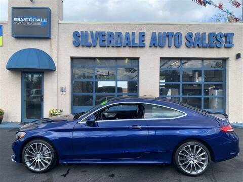 2017 Mercedes-Benz C-Class for sale at Silverdale Auto Sales II in Sellersville PA