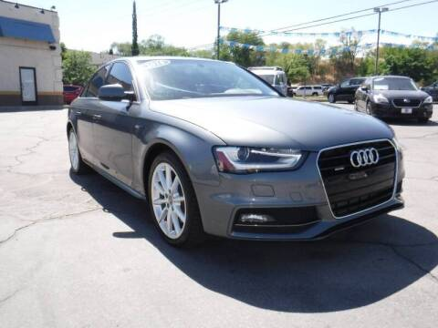 2016 Audi A4 for sale at Platinum Auto Sales in Provo UT