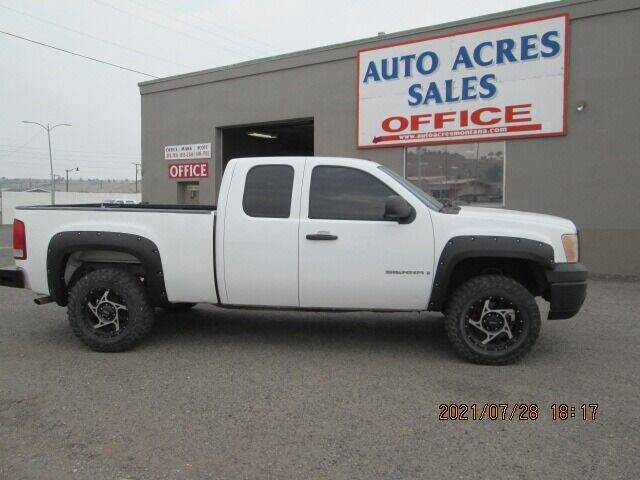 2008 GMC Sierra 1500 for sale at Auto Acres in Billings MT