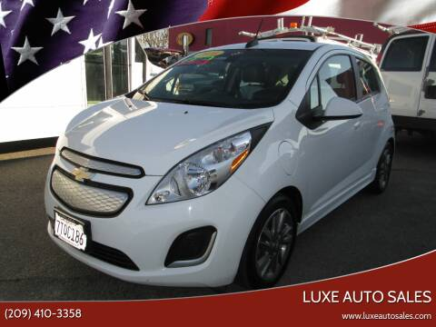 2016 Chevrolet Spark EV for sale at Luxe Auto Sales - Clean Air Qualified Vehicles in Modesto CA