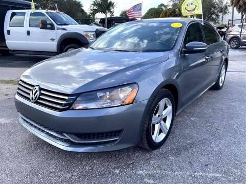 2013 Volkswagen Passat for sale at EZ Own Car Sales of Miami in Miami FL