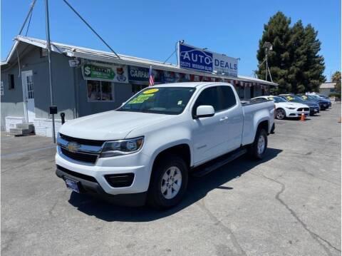 2019 Chevrolet Colorado for sale at AutoDeals in Hayward CA