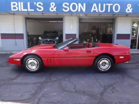 1987 Chevrolet Corvette for sale at Bill's & Son Auto/Truck Inc in Ravenna OH
