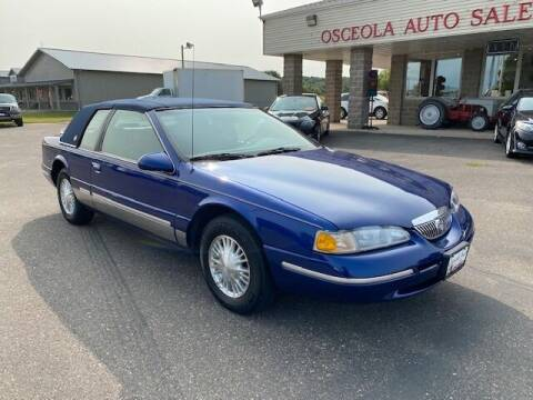 1997 Mercury Cougar for sale at Osceola Auto Sales and Service in Osceola WI