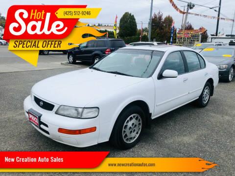 1995 Nissan Maxima for sale at New Creation Auto Sales in Everett WA